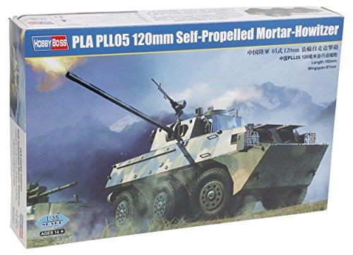 Hobbyboss 1:35 - PLA PLL05 120mm Self Propelled Mortar - Howitzer
