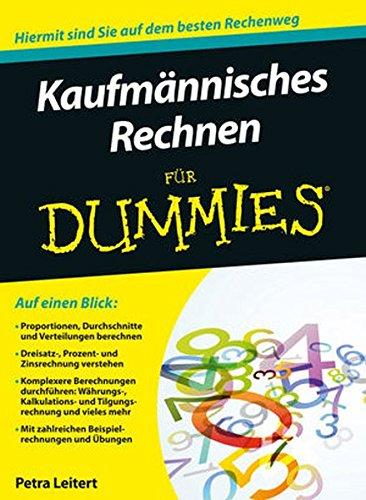 Kaufmännisches Rechnen für Dummies