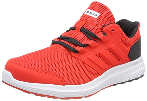 adidas Galaxy 4 m, Zapatillas de Running Hombre, Hi Res Red Hi Res Red Carbon 0, 44 2/3 EU