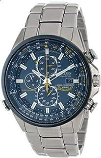 ساعة سيتيزن AT8020-54L للرجال انالوج بعقارب كرونو جراف