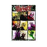 WODETA Slipknot Corey Taylor Poster, Leinwand-Kunst-Poster