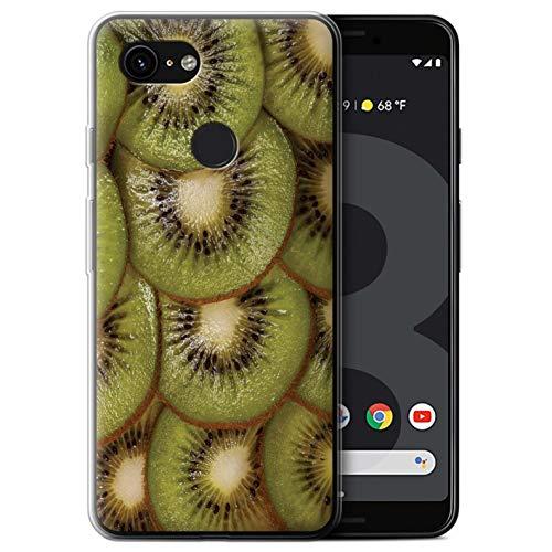 Stuff4® Phone Case/Cover/Skin/GG-GC/Juicy Fruit Collection Google Pixel 3 kiwi