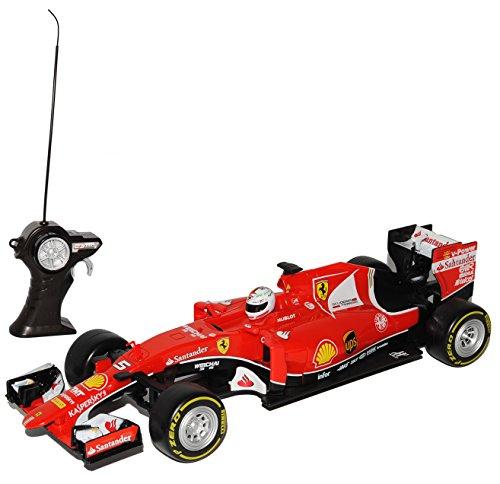 Maisto Ferrari SF70-H Sebastian Vettel Nr 5 Formel 1 2017 27 MHz RC Funkauto 1/24 Modell Auto mit individiuellem Wunschkennzeichen*