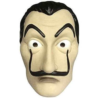 Boolavard Money Heist Mask Dali Mask - Unisex La Casa De Papel Costume Mask Salvador Dali Cosplay