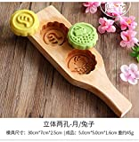 Mooncake Press-Form-Form Of Wood Ice Haut Mooncake/Mung Mung Bean Kuchen Dim Sum/Kürbis Biskuit/Neujahr Kuchen Brot-Backen-Form, 8,