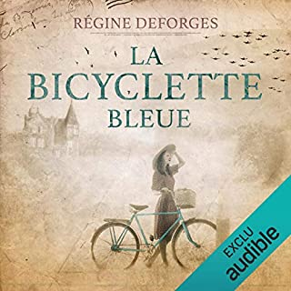 La bicyclette bleue (1939-1942)     La bicyclette bleue 1              De :                                                                                                                                 Régine Deforges                               Lu par :                                                                                                                                 Véronique Groux de Miéri,                                                                                        Hervé Lavigne                      Durée : 13 h et 18 min     50 notations     Global 4,3