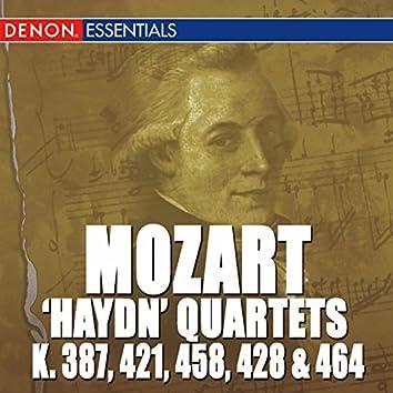 Mozart: 'Haydn Quarets' - K 387, 421, 458, 428 & 464