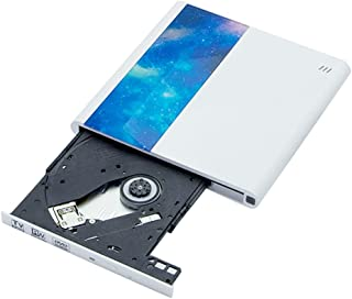 Andifany Computer Externe Optische Drive DVD-ROM: 8X CD-ROM: 24X Optische Disc Player Type-C Brander DVD-speler voor TV
