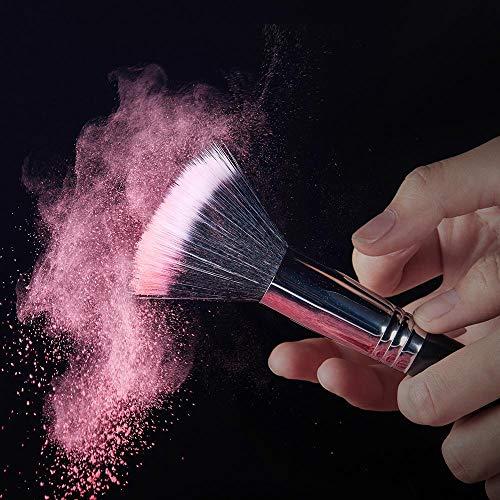 GJZ Brosses Kit de Pinceau de Maquillage Professionnel Fondation Fard à paupières Rouge à lèvres Mélange de Poudre Fibre Cheveux Outil cosmétique