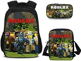 Roblox game 3D Printed Backpack set including handbag laptop backpack shoulder bag