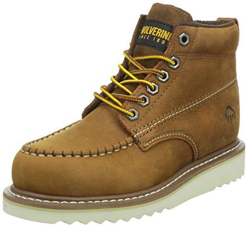 Wolverine Apprentice Wmn Hi Nub W09092, Damen Boots, Beige (tan), EU 38 (US 7)