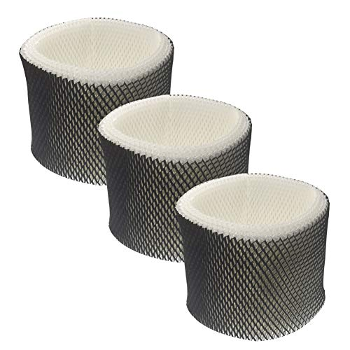 Fre.Filtor 3-Pack Replacement Humidifier Filters Compatible with Holmes HWF65,HWF65PDQ-U, Filter C,and Sumbeam Bionaire Cool Mist Humidifiers