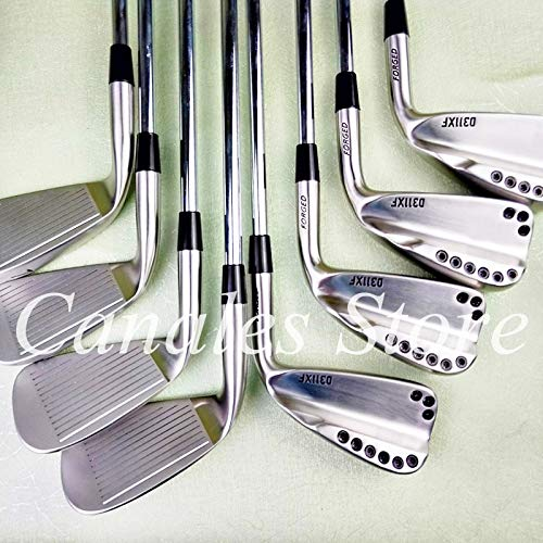 AGAOERF Palos de Golf 0311xf Hierros de Golf Plateados 3-9w