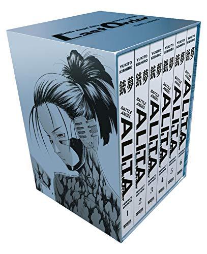 Battle Angel Alita - Last Order - Perfect Edition 1-6 im Schuber mit Extra: Kultiger Cyberpunk-Action-Manga in hochwertiger Neuausgabe