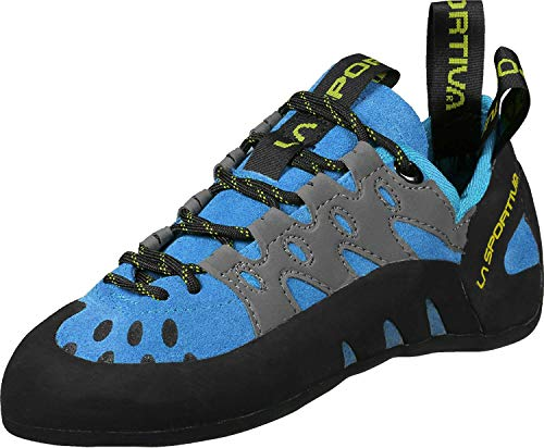 La Sportiva Men's TarantuLace Rock Climbing Shoe, Flame, 41.5