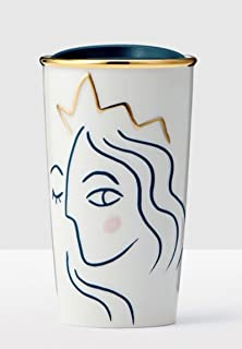 2017 Crowned Siren Anniversary Collection White Double Wall Traveler 10oz