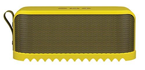 Jabra Solemate - Altavoz portátil con Bluetooth (9 W, 97 dB, 1200 mAh, A2DP), amarillo