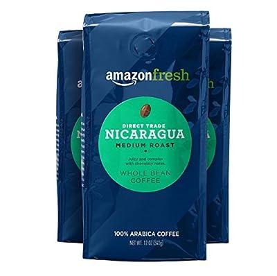 AmazonFresh Organic Fair Trade Sumatra Whole Bean Coffee