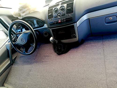 kfoam.es K´Foam Colchón Plegable Cama Delantera Camper para Mercedes Viano Color Gris (2003-2014) W639