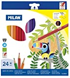 Milan 80024 - Pack de 24 lápices
