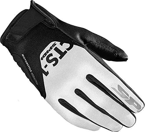 Spidi CTS-1 Damen Motorrad Handschuhe Schwarz/Weiß S