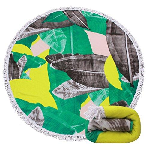 Thick Round Beach Towel Blanket