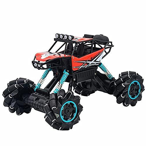 Moerc 1:12 RC Coche Off Road Control Remoto Monster Truck 2.4G Bigfoot Monster Stunt RC Vehículo 306 ° Levantamiento Giratorio Dual Modo Hobby RC Coche para niños y Adultos