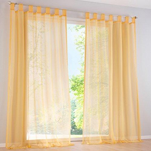cortinas verdes y amarillas