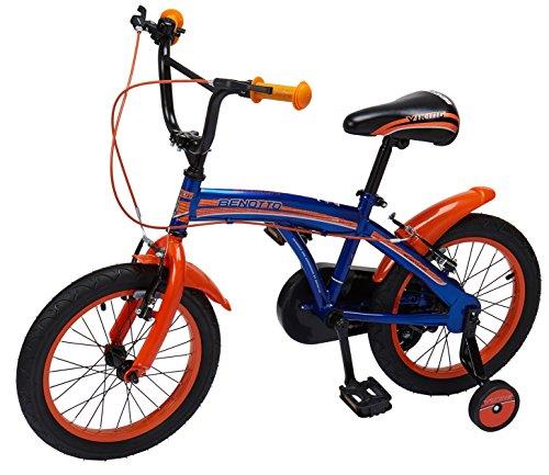 Benotto CRHVIK1601UNAZ Bicicleta de Acero Rodada R16, Niño, 1 Velocidad