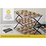 Wilton Folding Cooling Rack, 3 Tier, 25.4cm x 40.6cm (10in x 16in)