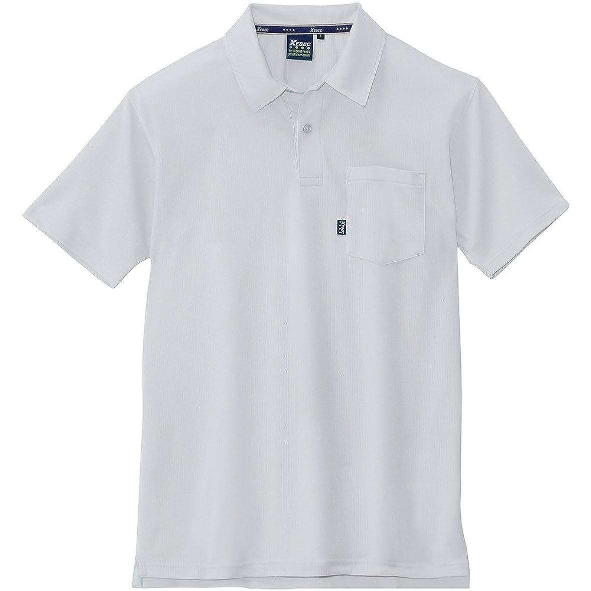 前奏曲実業家メンタリティジーベック 半袖ポロシャツ 大きいサイズ 22/シルバーグレー 6140 5L