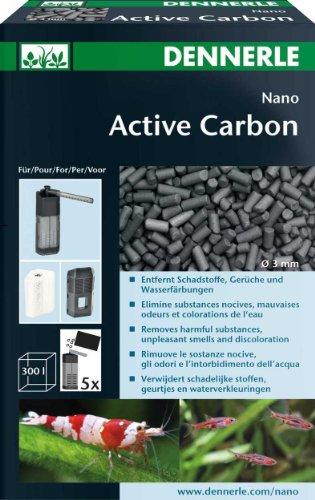 Dennerle Nano Active Carbon | 300ml Filterzubehör Aquarium