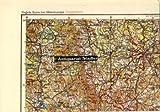 Vogels Karte von Mitteleuropa, Fliegerkarte: M 33 - SW Passau. Stand der Bodenorganisation: 26.5.42.