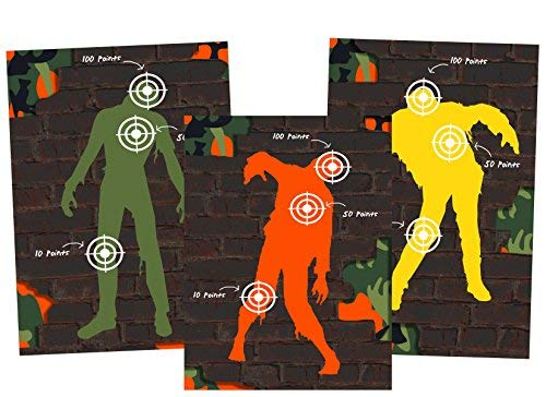 Silly Goose Gifts Dart Tag Themed Party Supplies (Zombie...
