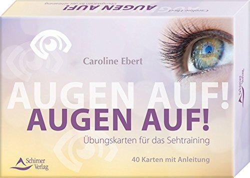 Kartenset: Augen auf!: Übungskarten für das Sehtraining - Kartenset, 40 Karten mit Anleitung