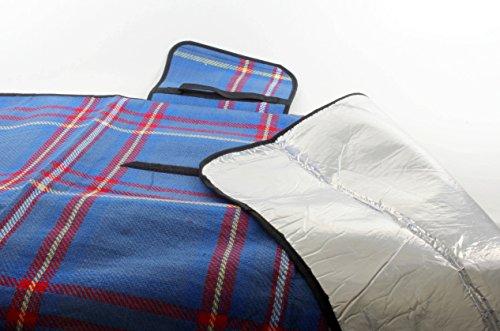 OUTDOOR Picknick-Decke blau 135 x 190 cm
