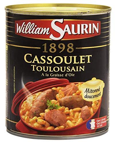 William Saurin Cassoulet Toulousain At The Fat Goose Dâ € ™ 840G (6er-Set)