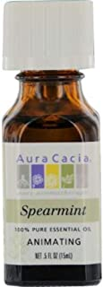 AURA CACIA Essential Oil Spearmint, 0.02 Pounds