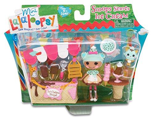 Lalaloopsy–Tienda de Helados Scoop Mini Playset