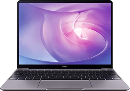 "Huawei Matebook 13 Firma Edn. Laptop - 13 ""2K Touch, 8th Gen i7, 8GB RAM, 512 GB SSD, NVIDIA GeForce, Office 365, Gris, teclado en inglés"