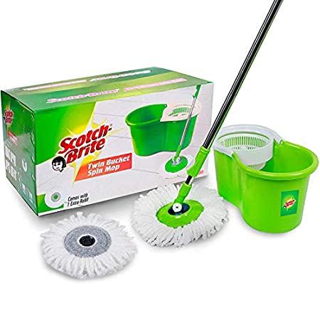 Scotch-Brite 2-In-1 Bucket Spin Mop