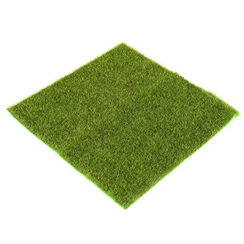 Preisvergleich Produktbild VIDOO 30 x 30Cm Künstliche Faux Garten Rasen Rasen Rasen Moos Miniatur Handwerk Ökologie Dekor