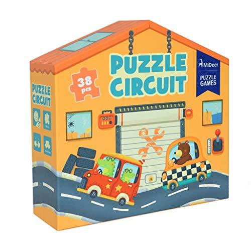 Puzzles Spielzeug for Kinder Kreative Verkehr Spur Dreidimensionales Baby-frühe Bildung Auto-Dampfer Spielzeug 3-4 Jahre alt Brainteaser