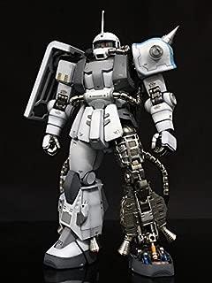 i-shopHK MG 1/100 MS-06R-1 Shin Matsunaga Zaku II Ver.2.0 for metal vernier set (Silver) [parallel import goods]