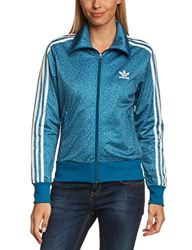 adidas Damen Jacke Firebird Track Top, Tribe Blue S14/Running White, 40, F78294