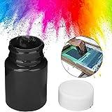 Tinta de impresión en bloque, 100 ml, se puede lavar con agua(black)