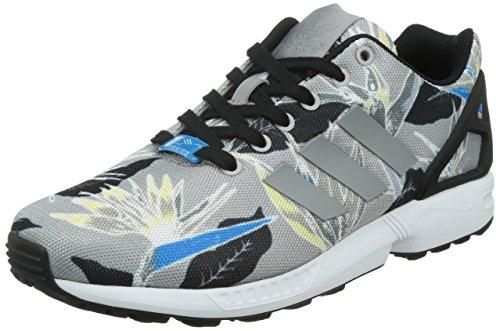 adidas Herren ZX Flux Laufschuhe, Mehrfarbig (Light Onix/Light Onix/FTWR White), 42