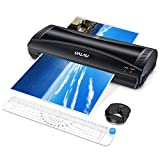 UALAU Laminator Machine, 9 Inches Hot & Cold Fast Lamination with Laminating Pouches,...