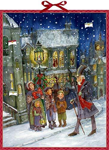 Zettelkalender - Die Weihnachtsgeschichte von Charles Dickens: Die Weihnachtsgeschichte in 24 Kapiteln