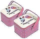 Lvjkes Tarro de las galletas, Caja de galletas, 2 latas para galletas con almacenamiento de cocina...